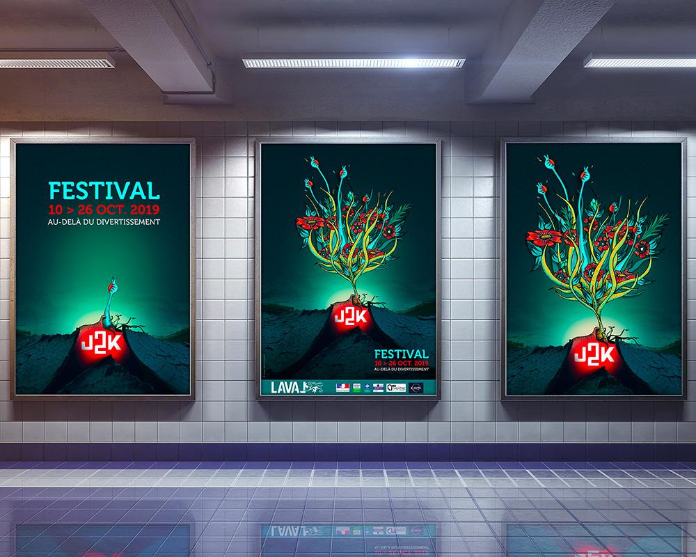 Affiche WAOSTUDIO Festival J2K 2019