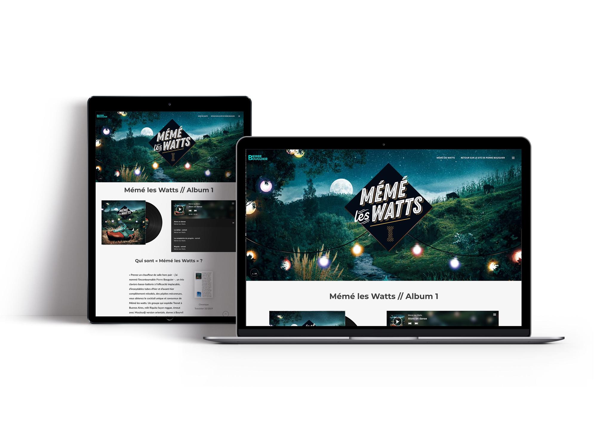 Site web Mémé les Watts