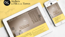 CVS Site web ateliers de fils et de terres Waostudio