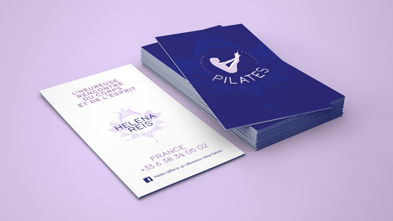 Helena Reis Pilates Cartes de visites